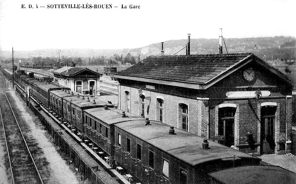 La gare sotteville au fil du temps - Bureau de change paris gare de l est ...