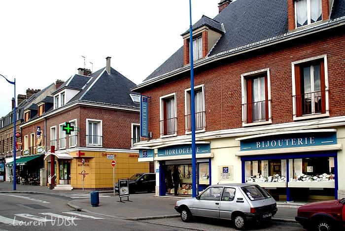 sotteville place voltaire angle rue barbès bijouterie