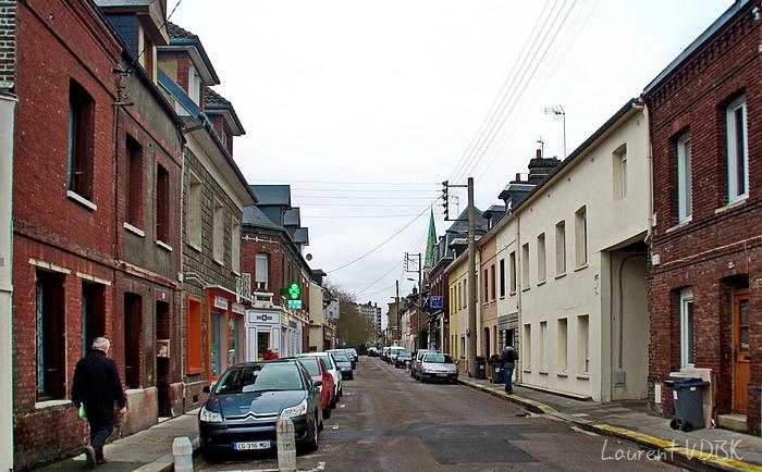 rue de paris - sotteville