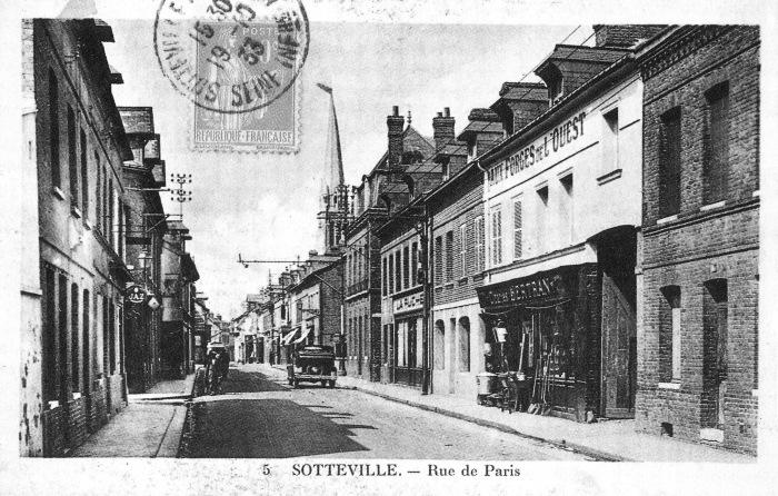sotteville - rue de paris