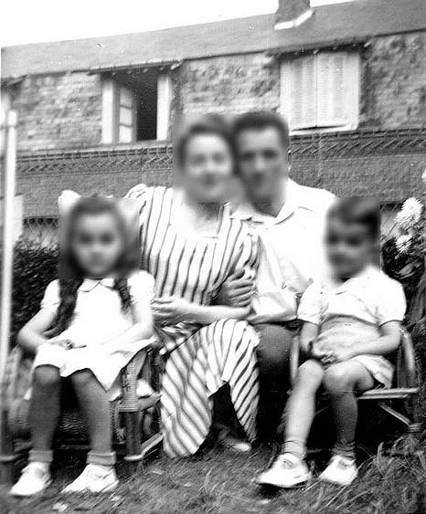 maisons de la rue béranger démolies pour percer rue cavaignac 1953 vincent Brossard