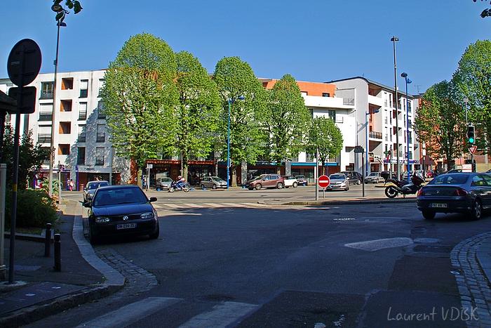 Place des Martyrs de la Résistance et rue de Trianon - Rouen et Sotteville