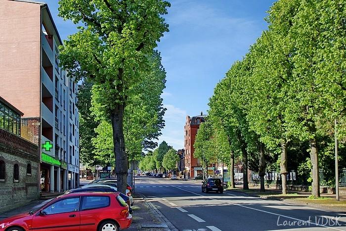 Place des Martyrs de la Résistance et rue d'Elbeuf - Sotteville