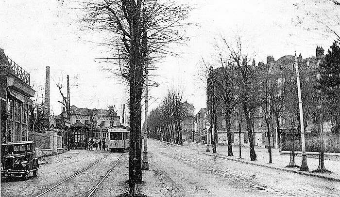 place trianon vers 1930