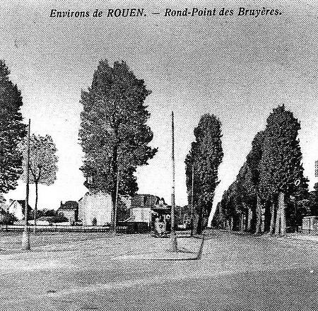 Rond point de Bruyères à Sotteville