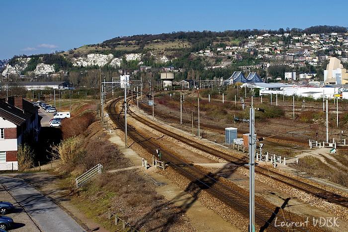 Dépot SNCF Sotteville