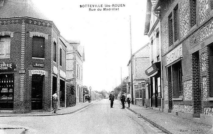 Rue du Madrillet - Sotteville-lès-Rouen