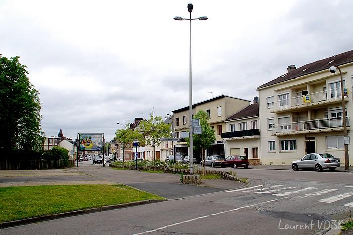 Place de la liberté et rue Corneille 2015