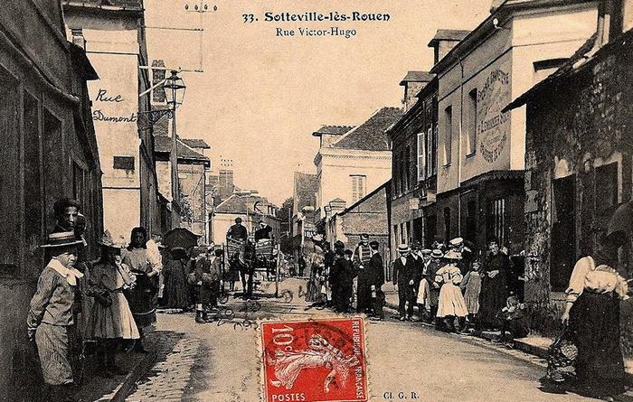 Rue Victor Hugo - Sotteville-lès-Rouen