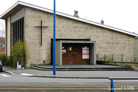 Eglise réformée (Temple protestant) - Rue Garibaldi, Sotteville-lès-Rouen 2007