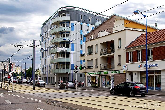 Rue Garibaldi Sotteville 2015