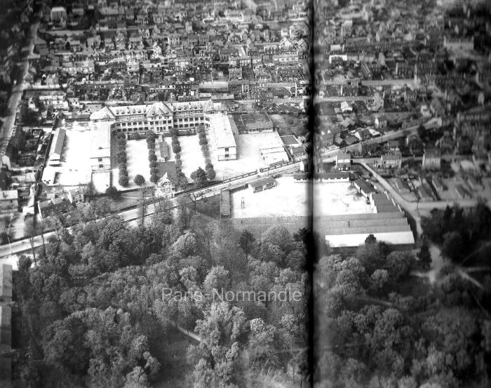 Vue aérienne du lycée Marcel Sembat - Sotteville-lès-Rouen