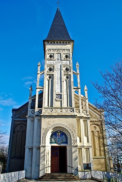 Eglise Notre-Dame de Lourdes à Sotteville-lès-Rouen