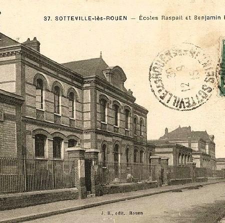 Ecoles Franklin et Raspail Sotteville-lès-Rouen