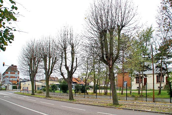 Emplacement des anciennes Ecoles Franklin et Raspail Sotteville-lès-Rouen - 2015