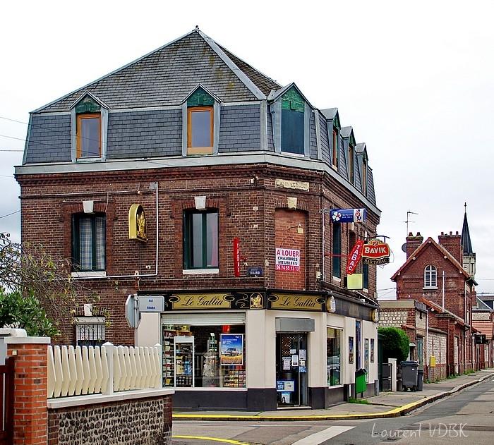 Rue Victor Hugo Sotteville-lès-Rouen Le Gallia