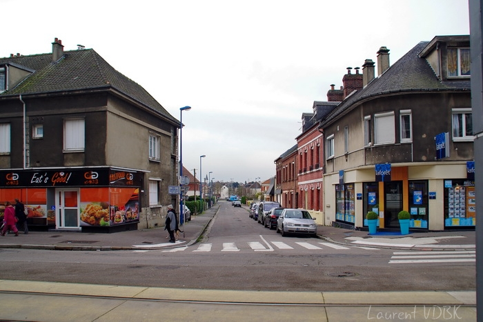 Sotteville-lès-Rouen, angle rues Garibaldi et Bouvier 2016