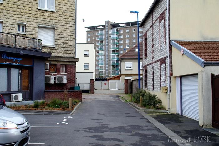 Sotteville lès Rouen - Rue J Cécille angle Garibaldi