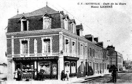 Café de la Gare - Rue de Paris, Sotteville-lès-Rouen