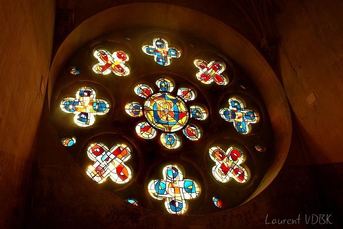 clocher et rosace église notre dame de l'assomption - sotteville-lès-rouen