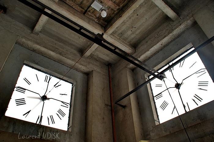 clocher et cadrans église notre dame de l'assomption - sotteville-lès-rouen