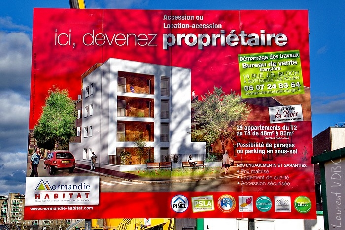 Résidence de l'Orée du Bois à Sotteville-lès-Rouen rue Léon Salva
