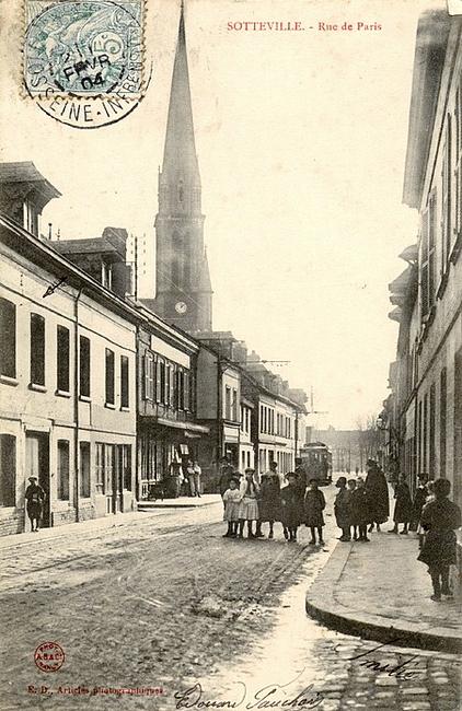 Sotteville-lès-Rouen - Rue de Paris