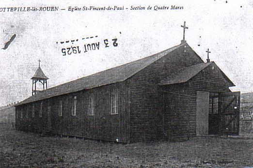 église saint vincent de paul chapelle provisoire - sotteville-lès-rouen