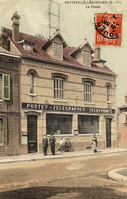 l'ancienne poste de sotteville-lès-rouen