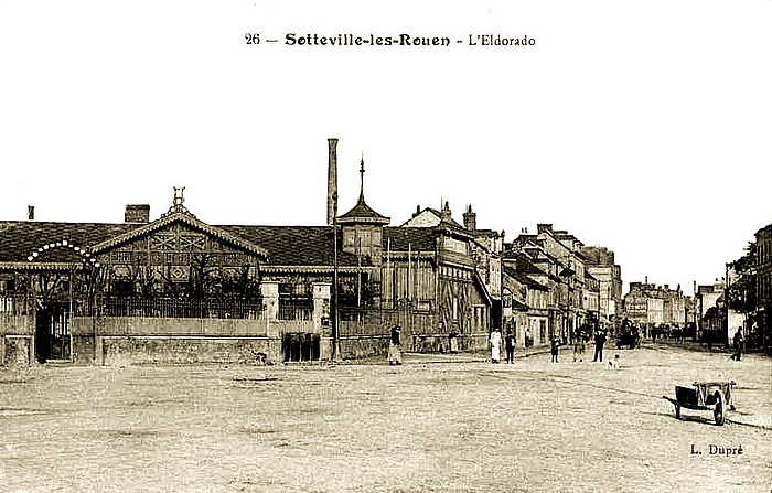 L'Eldorado - Place Voltaire - Sotteville-lès-Rouen