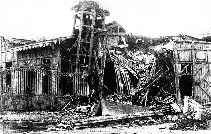 L'Eldorado bombardé - Place Voltaire - Sotteville-lès-Rouen