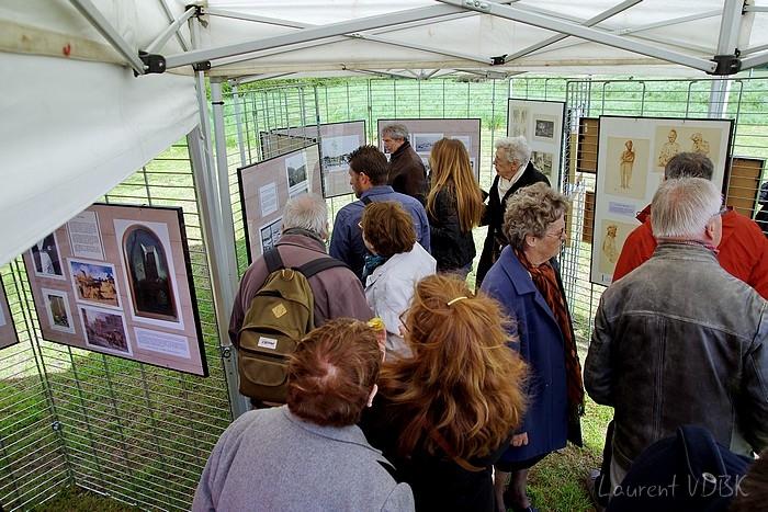 Sotteville-lès-Rouen : L'hippodrome des Bruyères a été transformé en hôpital militaire du Commonwealth (plus précisément australien) pendant la 14-18 il y a 100 ans. Exposition de photos