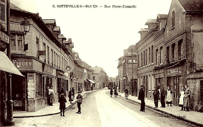Rue Pierre Corneille - Sotteville-lès-Rouen
