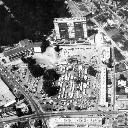 Place de l'hotel de ville sotteville lès rouen 1970