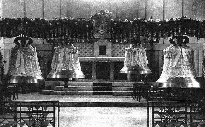 Bénédiction des cloches de l'église st Vincent de Paul - Sotteville-lès-Rouen