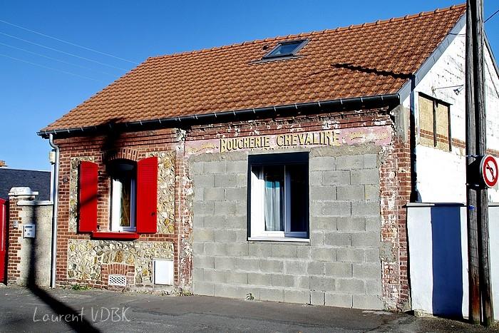 ancienne enseigne peinte rue marcel lechevallier à Sotteville-lès-Rouen