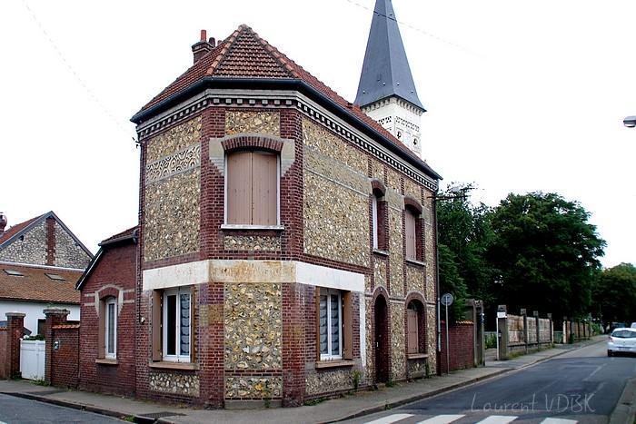 Vieille enseignes rue du Madrillet à Sotteville-lès-Rouen