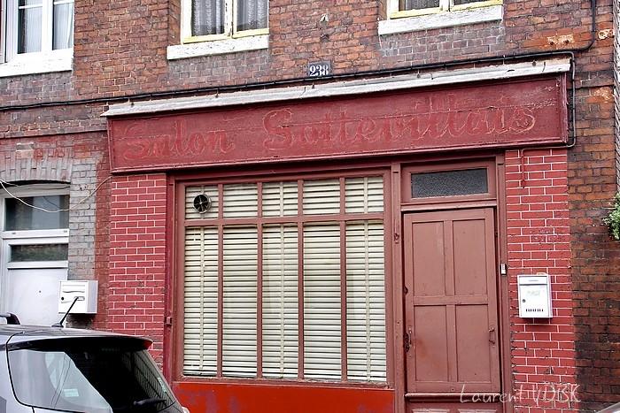 vieille enseignes coiffure salon sottevillais rue de Paris à Sotteville-lès-Rouen