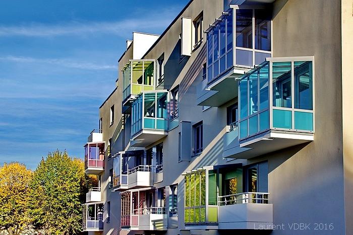 Chantier immeuble d'habitation - Sotteville-lès-Rouen