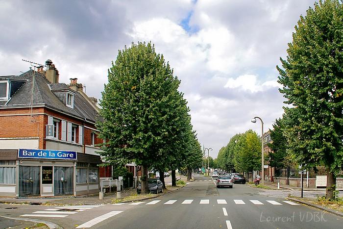 Rue de Paris - Sotteville-lès-Rouen - à l'angle de la rue Jean