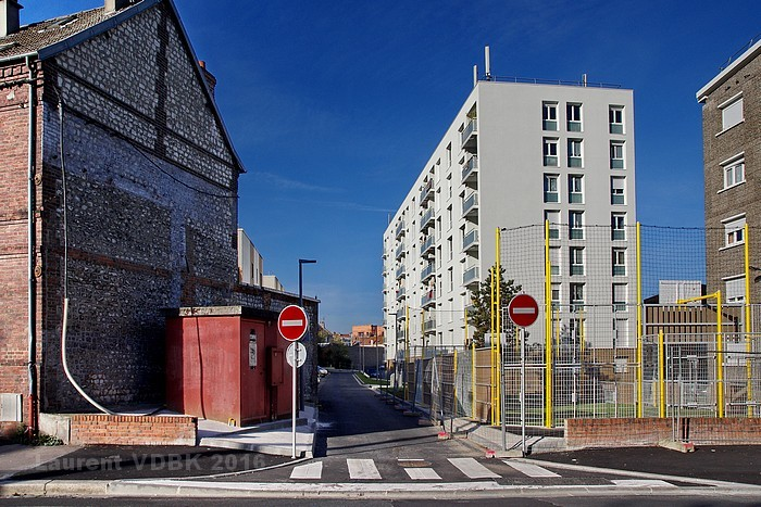 Rue Germaine Tillion - Sotteville-lès-Rouen