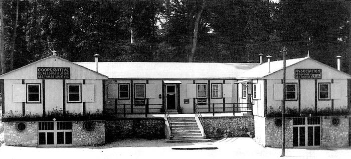 Pavillon suédois (secours populaire) avenue J Jaurès - Sotteville-lès-Rouen