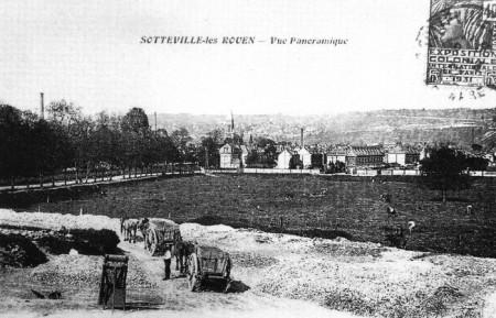 Sotteville-lès-Rouen, vue générale (photo ancienne)
