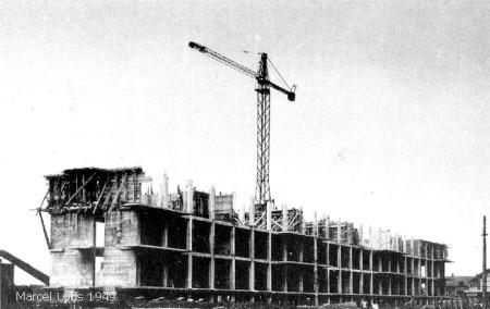 Construction immeuble Anjou - Espace Marcel Lods - Sotteville-lès-Rouen