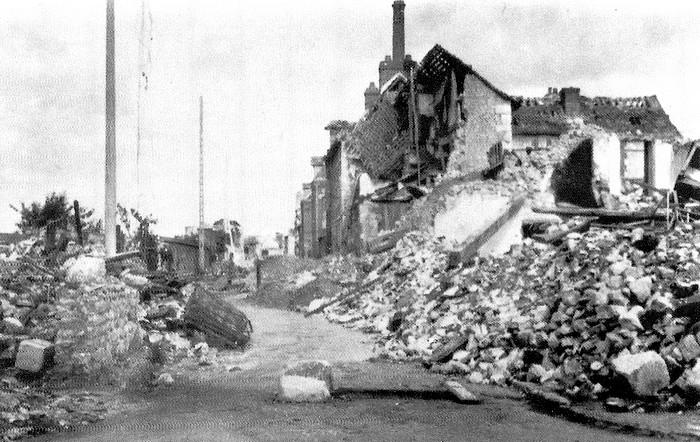 sotteville-lès-rouen détruite par les bombardements