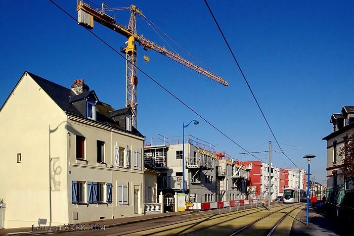 Sotteville-lès-Rouen - Chantier Rue Léon Blum
