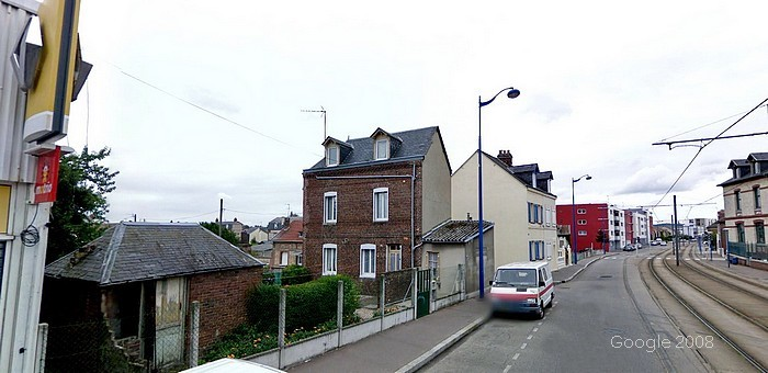 Sotteville-lès-Rouen - Angle Rues Ernest Renan / Léon Blum