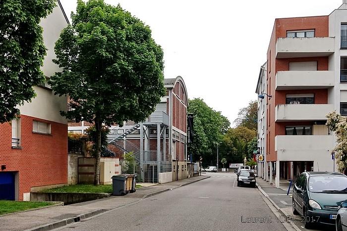 Rue Trianon - FRAC - Sotteville-lès-Rouen