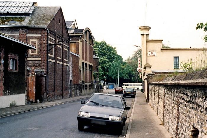 Rue Trianon - Cheval Noir et dépot tramway - Sotteville-lès-Rouen