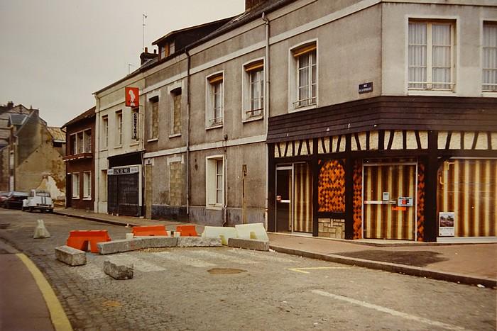 Place Voltaire et rue de la République - Sotteville-lès-Rouen